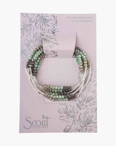 Iced Mint Combo/Silver Convertible Bracelet and Necktie
