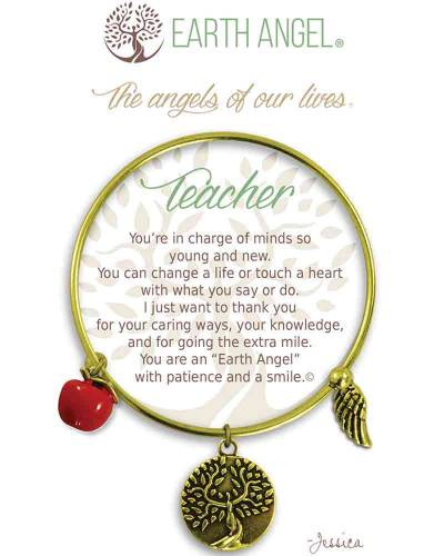 Teacher Angels of Our Lives Bracelet