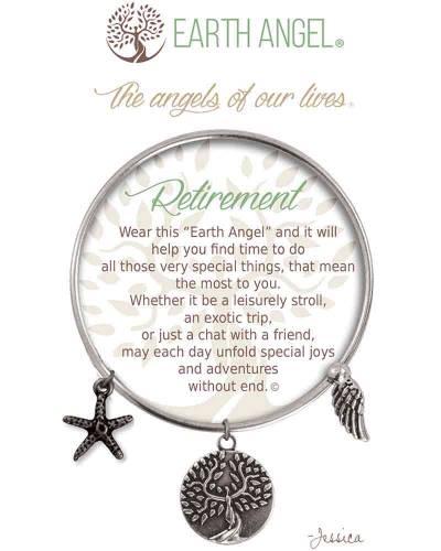 Retirement Angels of Our Lives Bracelet