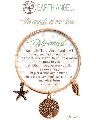 Retirement Angels of Our Lives Bracelet