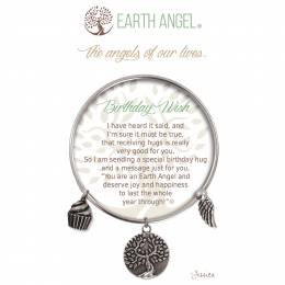 Earth Angel Birthday Wish Angels of Our Lives Bracelet