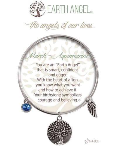 March Aquamarine Angels of Our Lives Bracelet
