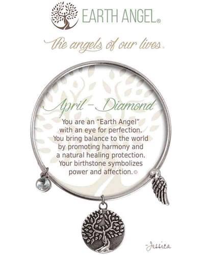 April Diamond Angels of Our Lives Bracelet