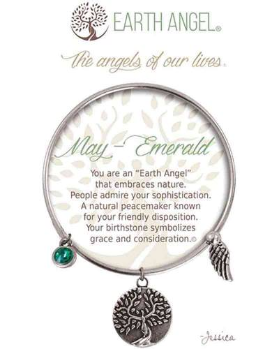 May Emerald Angels of Our Lives Bracelet