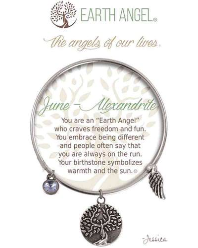 June Alexandrite Angels of Our Lives Bracelet