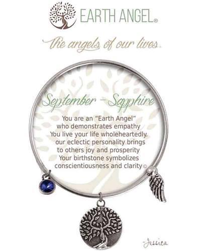 September Sapphire Angels of Our Lives Bracelet