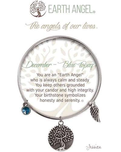 December Blue Topaz Angels of Our Lives Bracelet