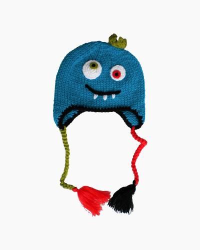 Monster Earflap Baby Beanie Cap