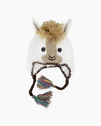 Llama Earflap Beanie Hat
