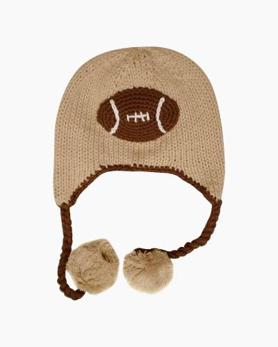 Football All-Star Earflap Beanie Hat