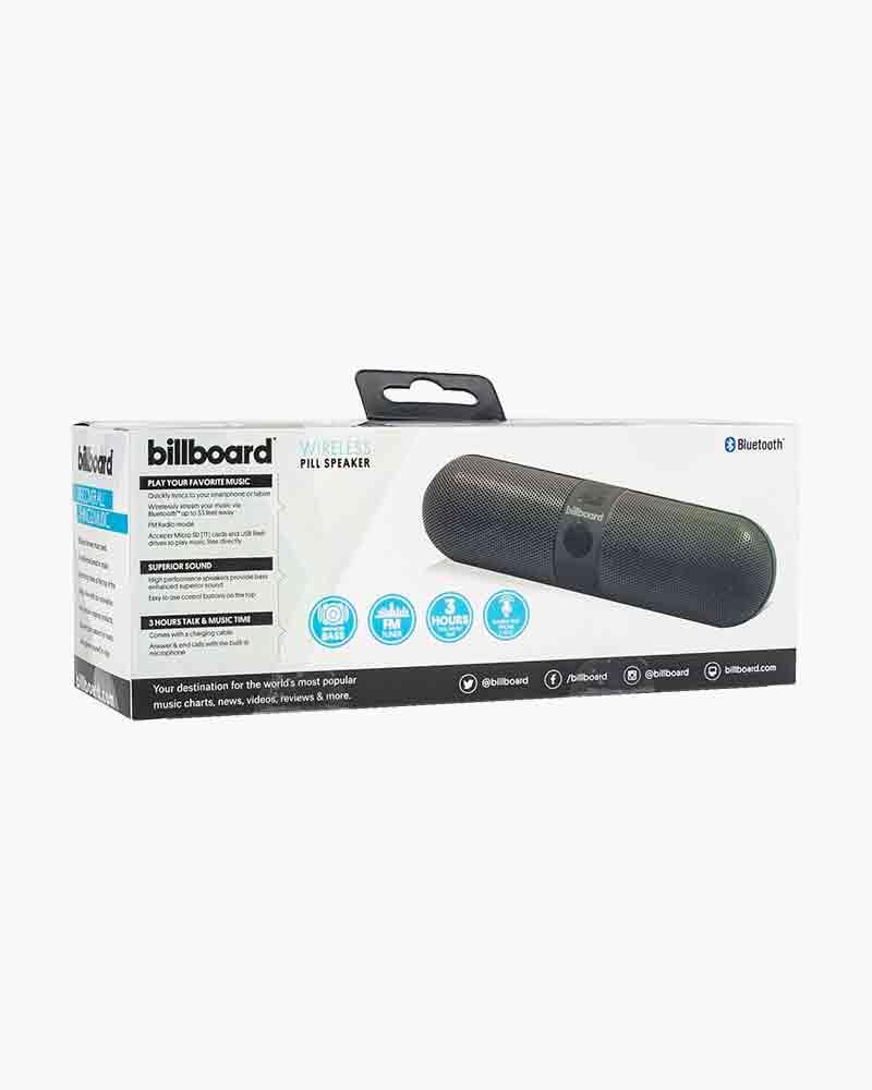 Black Pill Bluetooth Speaker