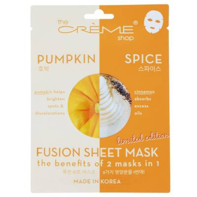 Pumpkin Spice Fusion Sheet Mask