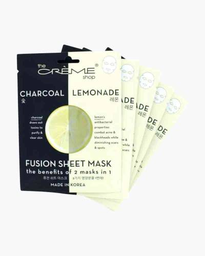 Charcoal and Lemon Fusion Sheet Mask