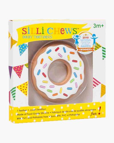 Donut Silicone Baby Teether