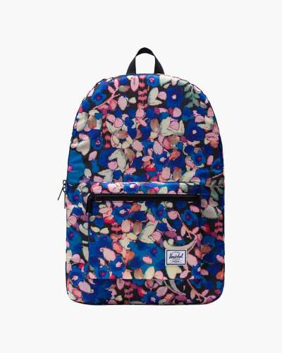 Packable Daypack in Painted Floral