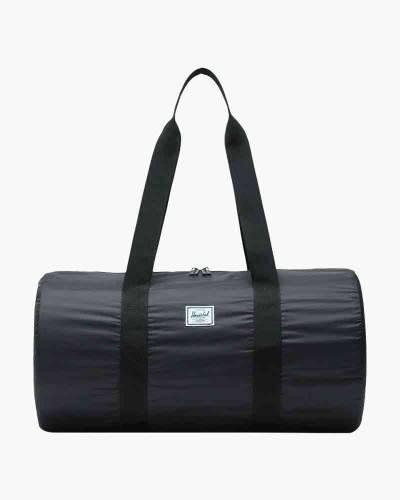Packable Duffle Bag in Black