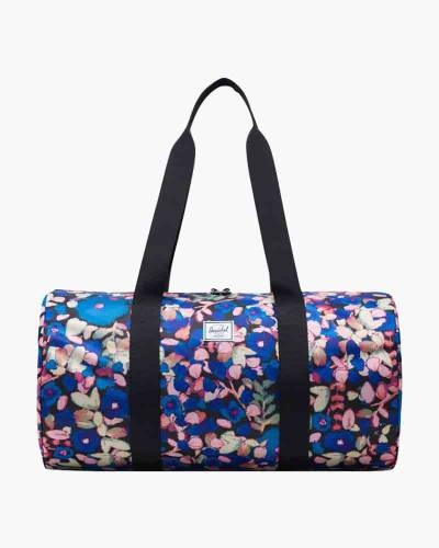 Packable Duffle Bag in Painted Floral