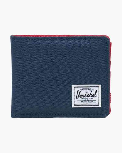 Roy Wallet in Navy and Red