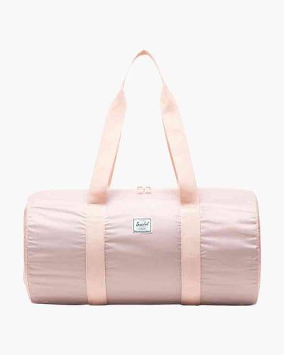 Packable Duffle Bag in Cameo Rose