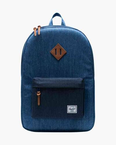 Heritage Backpack in Faded Denim