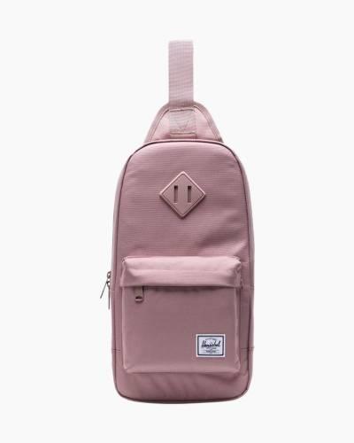 Heritage Shoulder Bag in Ash Rose