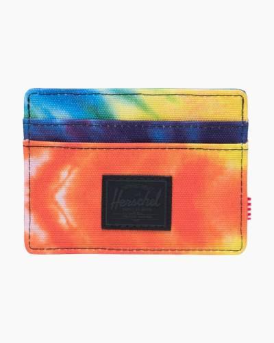 Charlie Wallet in Rainbow Tie Dye