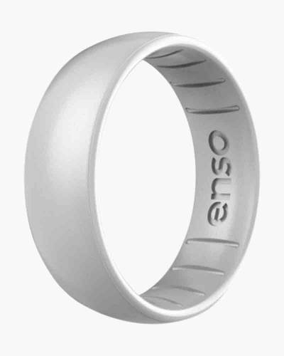 Classic Elements Silicone Ring in Silver