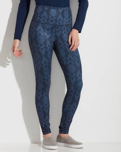 Geometric Print High Waist Leggings