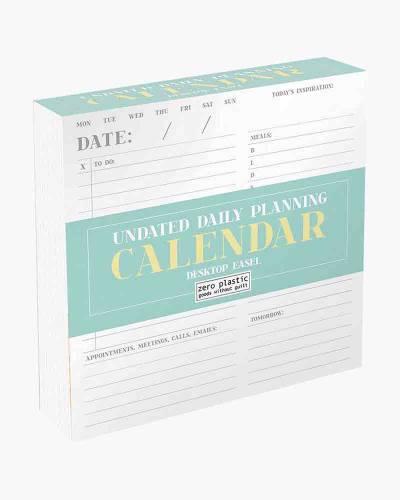 Daily Planning Desk Calendar