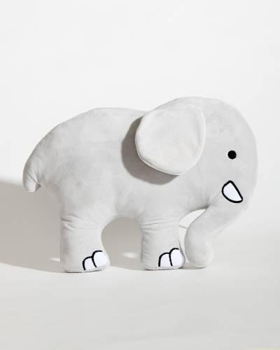 Plush Elephant Pillow