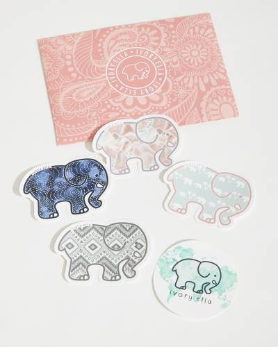Elephants Sticker Pack