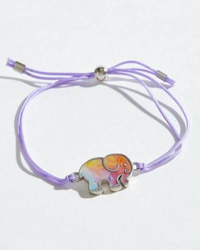 Watercolor Pattern Corded Bracelet