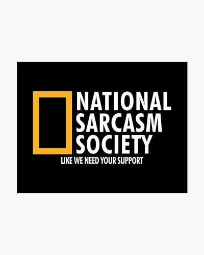 National Sarcasm Society Men's Tee