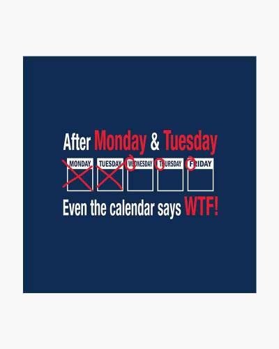 WTF Calendar Men's Tee