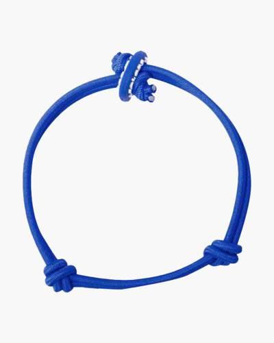 Patience Royal Blue Cord Mood Bracelet