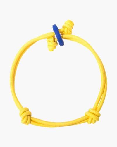 Happiness Yellow Cord Mood Bracelet