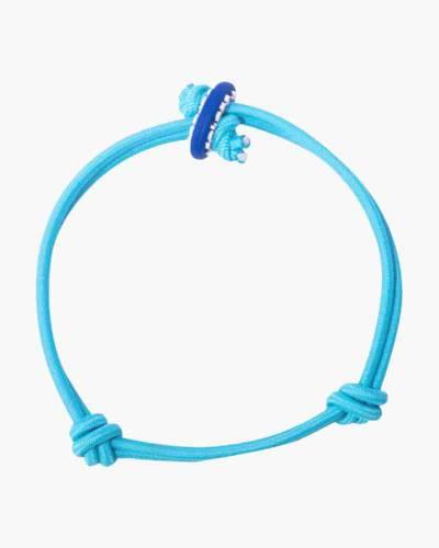 Faith Light Blue Cord Mood Bracelet