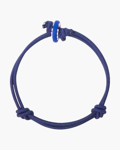 Courage Dark Blue Cord Mood Bracelet