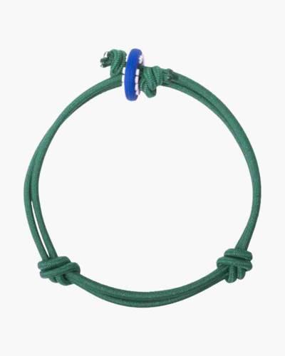 Harmony Dark Green Cord Mood Bracelet