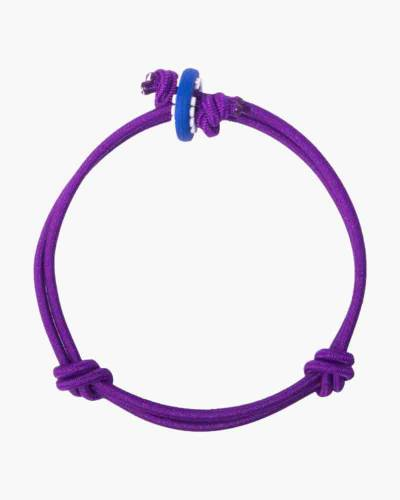 Magic Dark Purple Cord Mood Bracelet