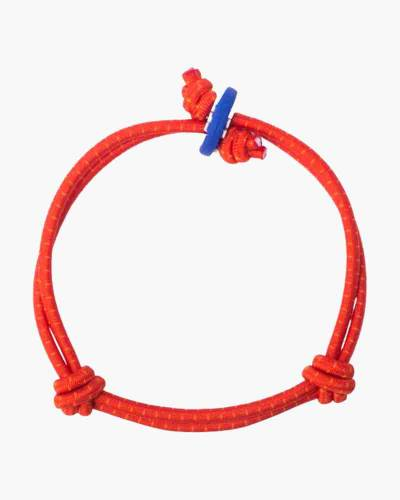 Vision Red with Dots Cord Mood Bracelet