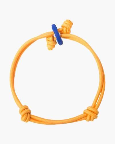 Creativity Neon Orange Cord Mood Bracelet