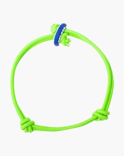 Luck Neon Green Cord Mood Bracelet