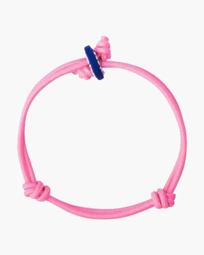 Femininity Light Pink Cord Mood Bracelet