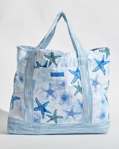 Exclusive Large Cotton Shell Tote