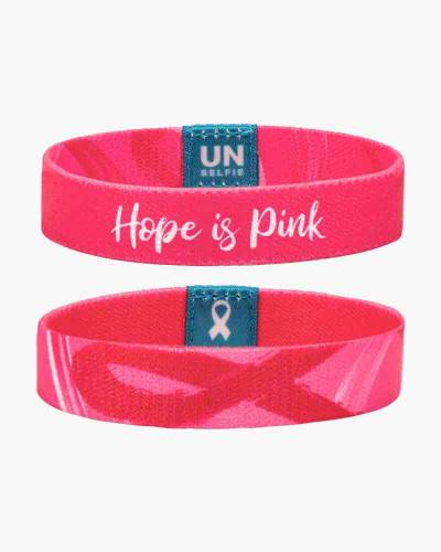 Hope Ribbon Bracelet for the Dr. Susan Love Research Foundation