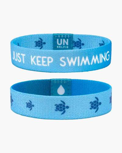 Just Keep Swimming Bracelet for Water.org