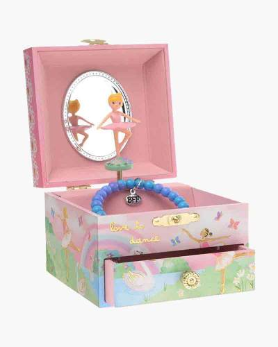 Dancing Ballerina Musical Jewelry Box with Drawer