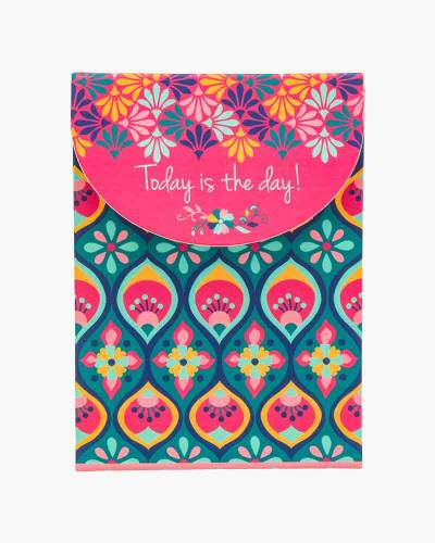 Today is the Day Spanish Blue Purse Notepad
