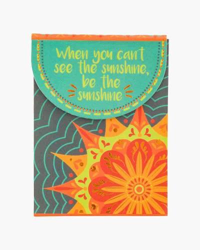 Be the Sunshine Sun Purse Notepad